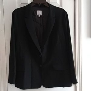 16 Halogen Fully Lined Suit Blazer